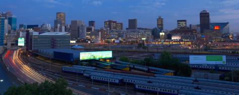Image: Johannesburg skyline