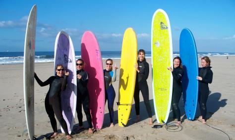 Image: Surfer girls