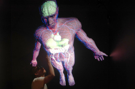 Image: The world's first virtual computer model of a human body.