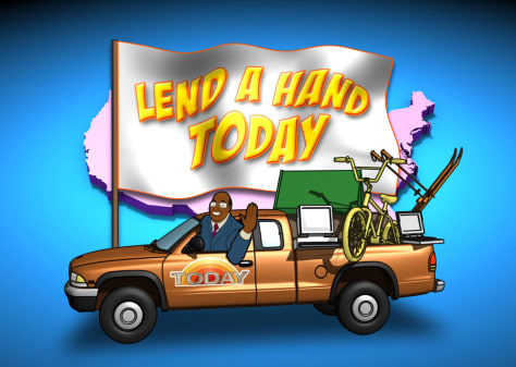 Image: Lend a Hand graphic