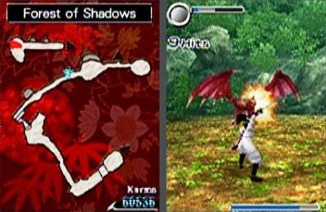 Image: Ninja Gaiden Dragon Sword from Tecmo.