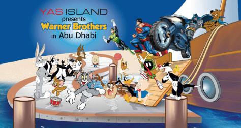 Image: Theme park ad