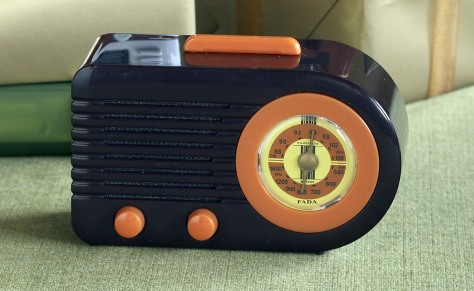 "Image: ""Almost Vintage Miniature Radio, Bullet"""
