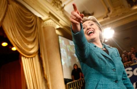 Image: Sen. Clinton in Philadelphia