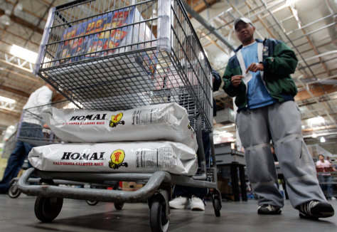 Image: Buying rice at Costco