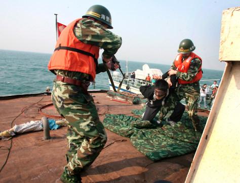 Image: Nautical counter-terrorism drill