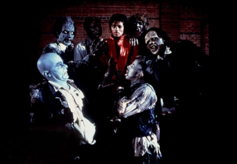 Image: Michael Jackson, Thriller video