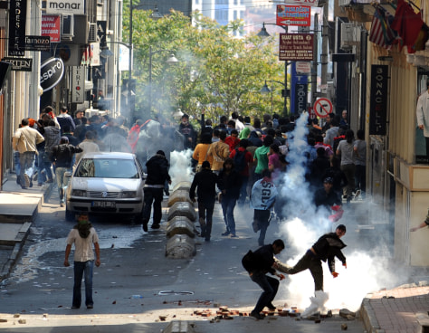 Image: May Day Demonstrations In Turkey