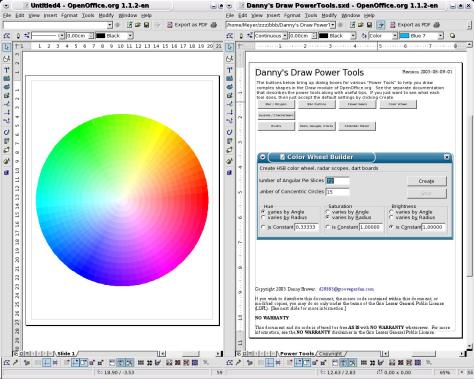 Image: OpenOffice.org drawing program screenshot