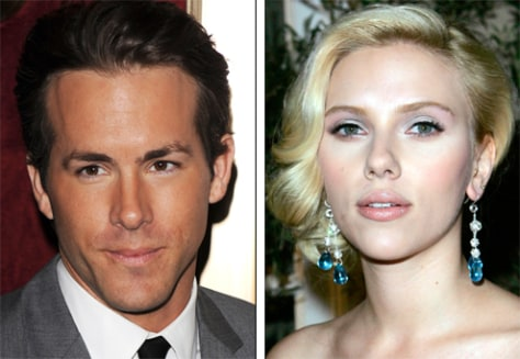 Scarlett Johansson weds Ryan Reynolds - today ...