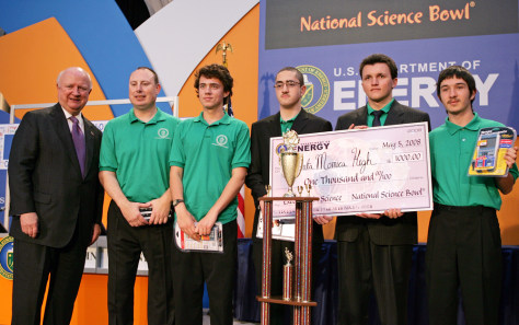 Image: National Science Bowl