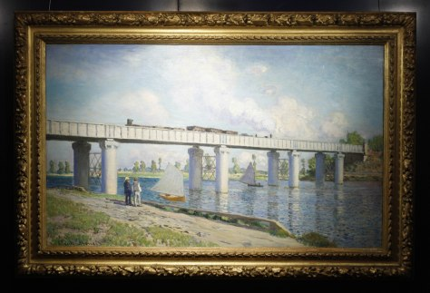 Monet painting sells for record 41 4 million today for Imag fer forget argenteuil