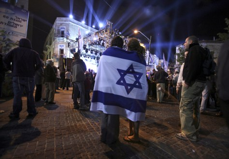 Image: Independence Day festivities in Jerusalem