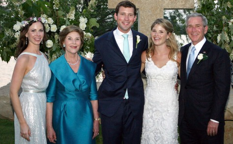 Image: Jenna Bush wedding