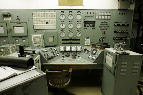 Image: Hanford control room
