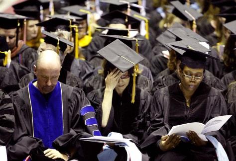 Image: NIU graduation