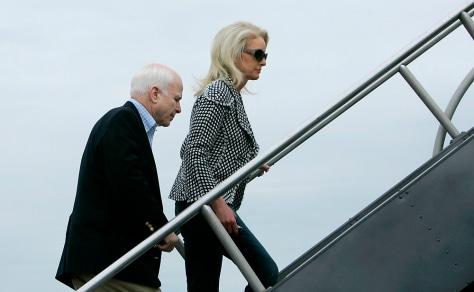 Image: John and Cindy McCain