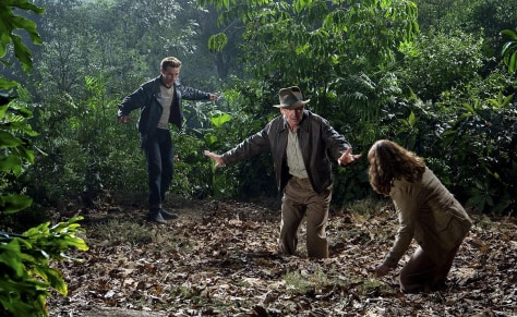 "Image: Scene from ""Indiana Jones and the Kingdom of the Crystal Skull"""