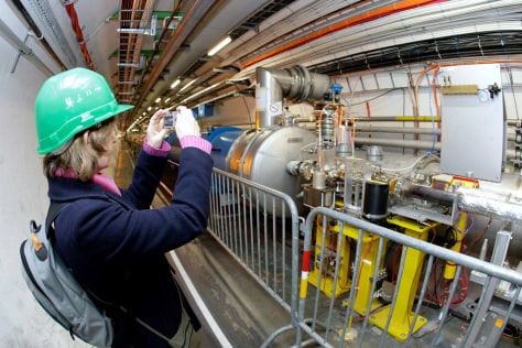 Image: large hadron collider
