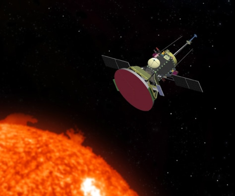 Image: NASA's Solar Probe spacecraft