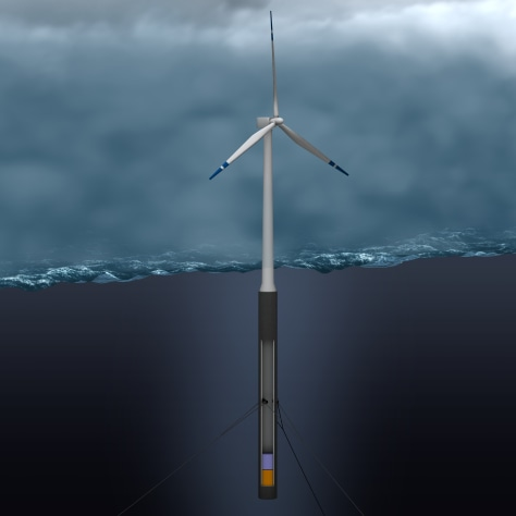 IMAGE: FLOATING TURBINE