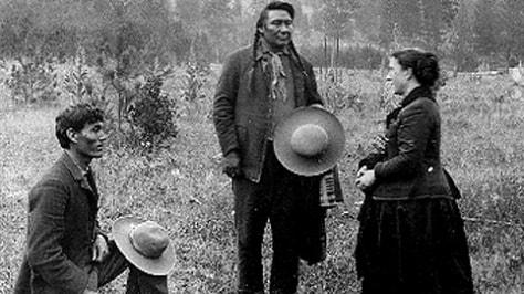 Image: Alice Fletcher and Chief Joseph