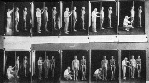 Image: Harry H. Laughlin measuring individuals
