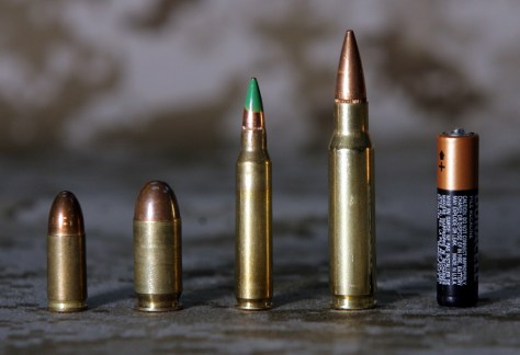 M16 Bullets Royalty Free Stock Image - Image: 34346556