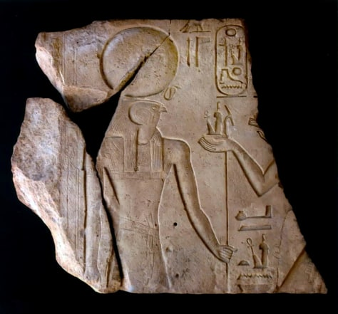 Image: Ancient Egyptian inscription