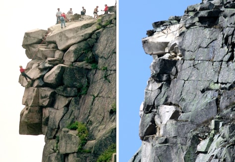 Image: Old Man of the Mountain, New Hampshire