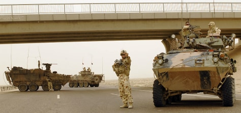 Image: Australian troops in Iraq