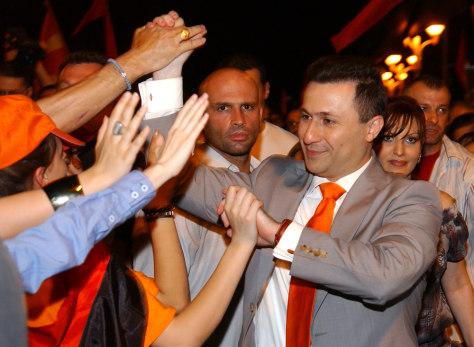 Image: Nikola Gruevski
