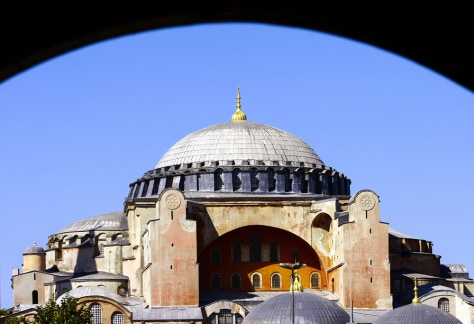 Image: Hagia Sophia in Istanbul