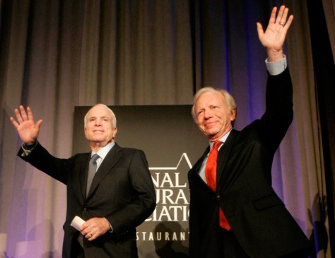 John McCain, Joe Lieberman