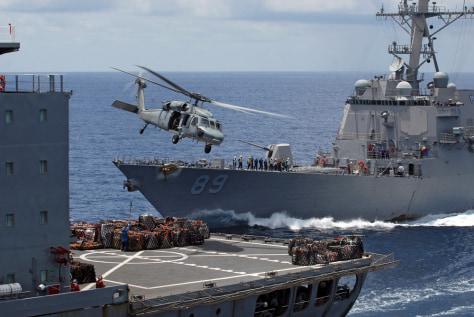 Image: U.S. Navy ships off Myanmar