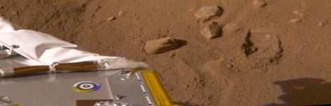 Image: Martian soil
