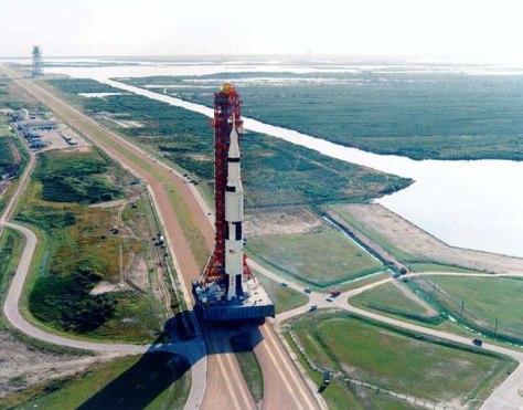 """Image: Saturn V/""""When We Left Earth"""""""