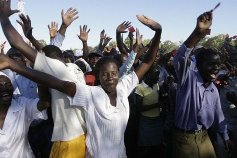 Image: Zimbabwe opposition