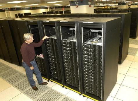 Image: IBM Roadrunner computer