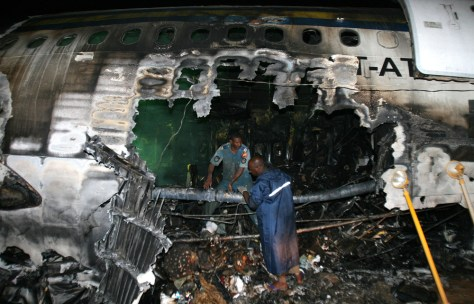 Image: Sudan Airways plane crash