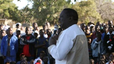 Image: Zimbabwe presidential candidate Morgan Tsvangirai