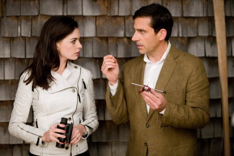"Image: Steve Carell, Anne Hathaway in ""Get Smart"""