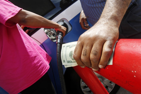 Image: Buying gas