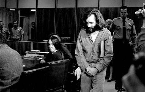 Image: Charles Manson, Susan Atkins