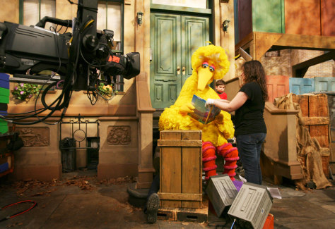Image: Caroll Spinney as Big Bird