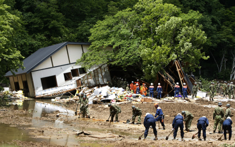 Image: Earthquake damage in Kurihara, Japan