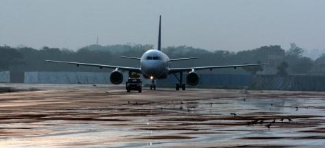 Image: New Delhi airport