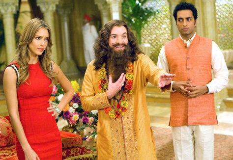 Image: Mike Myers, Manu Narayan, Jessica Alba