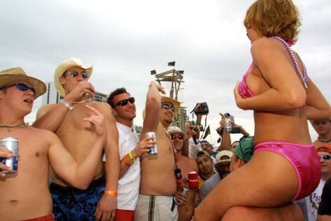 Image: Spring Break 2001 on South Padre Island, Texas