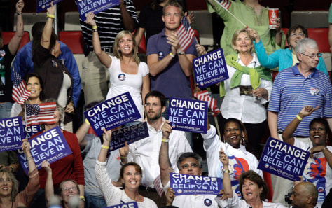 Image: Obama audience members